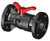 Reinforced Small Size PP Ball Valve