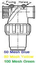 """BUCKET"" TYPE STRAINER"