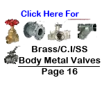 Metal Valves: Ball Valve, Gate Valve, Check Valve