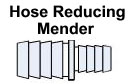 Reducing Hose Mender /  Hose Fitting
