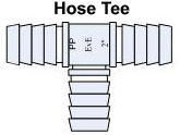 Hose Tee /  Hose Fitting