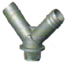 Twin Barb Hose Adaptor /  Hose Fitting