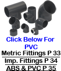PVC & ABS Pipe Fittings - Sockets - Nipples - Elbows - Tees - Menders - Unions - Flanges - Reducers - Adaptors