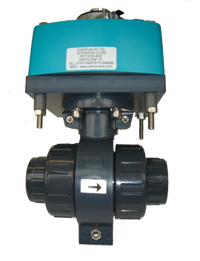 PVC BALL VALVE SPRING BACK ACTUATOR 10334