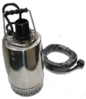 "2"" RS SS SUBMERSIBLE WAST PUMP 230V, 350/16 LM/HM"