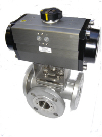 "2"" SS 3 WAY L PORT REF 32184"