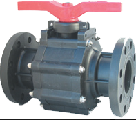 2 Way PP Ball Valve
