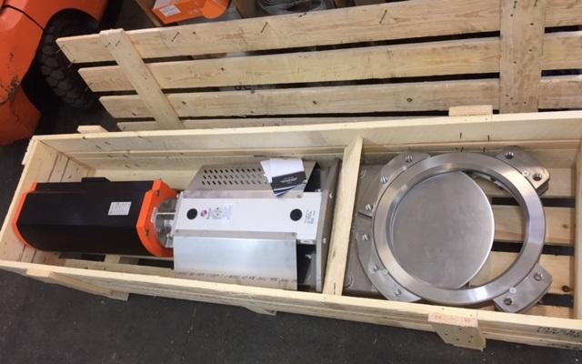 stock knife gate valve